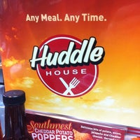 Photo taken at Huddle House by Spencer M. on 2/19/2011