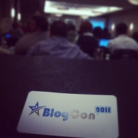 Photo taken at #BlogCon11 by Will F. on 11/11/2011