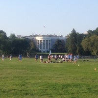 Photo taken at The Ellipse — President's Park South by Sasha H. on 8/28/2012