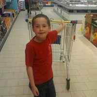 Photo taken at Lidl by Veronica V. on 8/25/2012