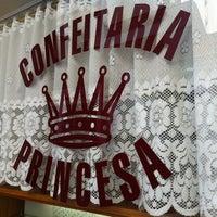 Photo taken at Confeitaria Princesa by Thomas E. on 7/4/2012