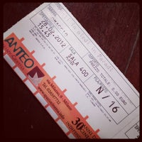 Photo taken at Anteo Spazio Cinema by Bruno C. on 2/28/2012