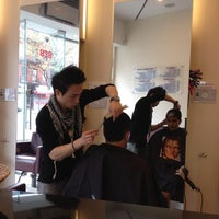 Photo taken at Ada Salon by Hongjiao C. on 4/12/2012