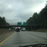 Photo taken at I-285 by Michael D. on 5/8/2012