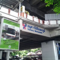 Photo taken at BTS Victory Monument (N3) by Kato T. on 5/28/2012