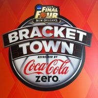 Photo taken at Bracket Town Refreshed by Coca-Cola Zero by Robert M. on 4/1/2012