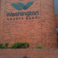 Photo taken at Washington County Bank by Jill C. on 6/10/2011
