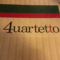 Photo taken at Quarteto Restaurante by Luciana P. on 6/9/2012