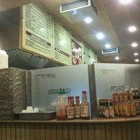 Photo taken at Cafe Bravo by martin m. on 9/10/2011