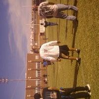 Photo taken at Hutchins Stadium Ysleta by Alice🌺 F. on 11/19/2011
