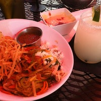 Photo taken at Yucatan Taco Stand by Kellie D. on 5/31/2012