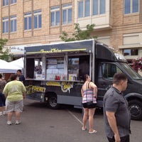 Photo taken at Pomfreet food truck by Chris D. on 7/1/2012