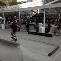 Photo taken at Coleman Playground Skatepark by Ernie K. on 8/18/2012