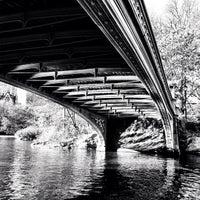 Photo taken at Bow Bridge by Dean H. on 11/18/2011