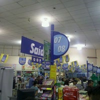 Photo taken at Lopes Supermercados by ϺΛΠΘΣL Λ. on 10/8/2011