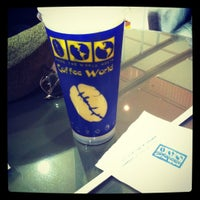 Photo taken at Coffee World by Airi R. on 6/10/2012