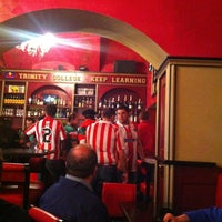 Photo taken at Trinity College Pub by Anca -Alexandra M. on 5/9/2012