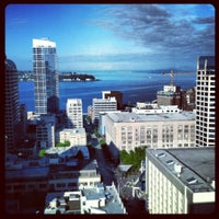 Photo taken at Grand Hyatt Seattle by Paul W. on 7/5/2012