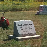 Photo taken at Hanesville Cemetary by Suzanne B. on 9/1/2012