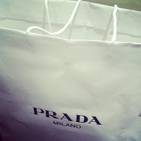 Photo taken at Prada by Achim H. on 11/9/2011