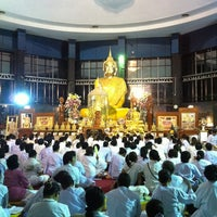 Photo taken at Wat Sangkhathan by Somrutai S. on 1/3/2012