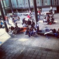 Photo taken at Facultad Comunicación y Letras UDP by Alejandro J. on 9/10/2012