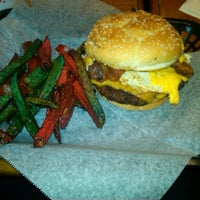 Photo taken at Graffiti's Burgers by Catie M. on 5/13/2012