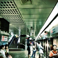 Photo taken at Orchard MRT Station (NS22) by Pitt C. on 3/3/2012