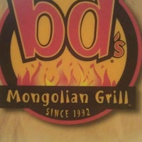 Photo taken at bd's Mongolian Grill by Stephanie J. on 2/17/2012