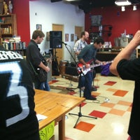 Photo taken at Mojo Books & Music by Nathan B. on 4/21/2012