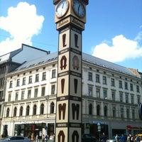 Photo taken at Laimas Pulkstenis   Laima clock by Vladis on 7/17/2012
