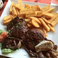 Photo taken at Café le Soufflot by Hussadin T. on 3/16/2012