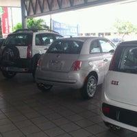 Photo taken at Pontanegra Fiat by Gilberto J. on 3/2/2012