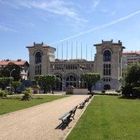 Photo taken at Jardin Public Biarritz by Mattin N. on 5/14/2012