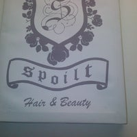 Photo taken at Spoilt Hair & Beauty by Adele R. on 4/17/2012