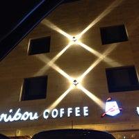 Photo taken at Caribou Coffee by Mazen A. on 2/20/2012