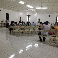 Photo taken at Iglesia Perpetuo Socorro by Nady G. on 3/15/2012