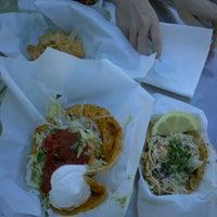Photo taken at Sky's Gourmet Tacos by SumMilfNCookies on 3/8/2012