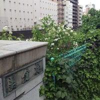 Photo taken at 美倉橋 by nanya n. on 5/13/2012