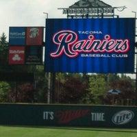 Photo taken at Cheney Stadium by bobby s. on 6/28/2012