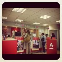 Photo taken at Альфа-Банк by Anastasia K. on 7/18/2012