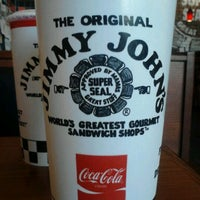 Photo taken at Jimmy John's by Hannah O. on 5/14/2012