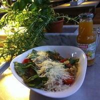 Photo taken at Vapiano by Jenny R. on 4/8/2012