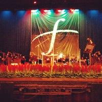 Photo taken at Teatro Popular Melico Salazar by Walter M. on 8/16/2012