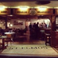 Photo taken at St. Elmo's  Seaside Brasserie by Mahmoud E. on 5/29/2012