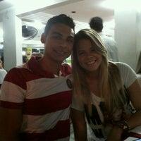Photo taken at Pizzaria Garoa Paulista by Melissa S. on 5/4/2012