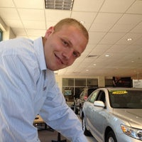 Photo taken at Rockingham Toyota by Marc S. on 7/1/2012