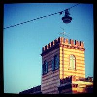 Photo taken at Ostello della Gioventù Villa Francescatti by Laura S. on 7/17/2012