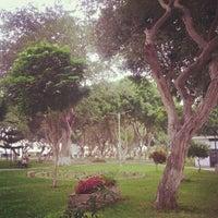 Photo taken at Parque de California by Rogelio P. on 6/27/2012