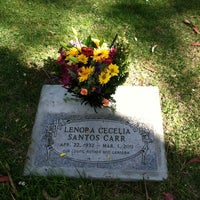 Photo taken at San Carlos Cemetery by Mark N. on 3/30/2012
